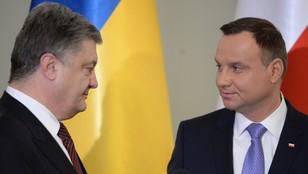 Duda: Cały czas stoimy przy Ukrainie; Poroszenko: Polska strategicznym partnerem
