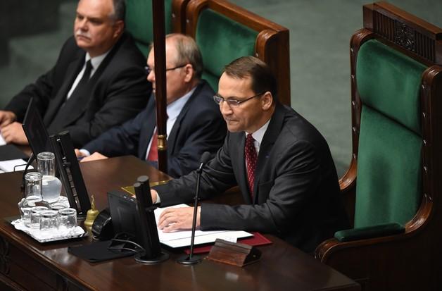 Sikorski marszałkiem Sejmu. Obiecuje poważną debatę
