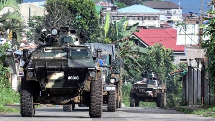 Filipiny: siły USA włączają się do walk z rebeliantami w Marawi