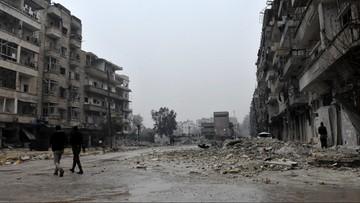 Syria: uzgodniono warunki ewakuacji rebeliantów z Aleppo