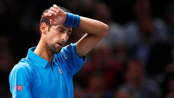 2016-11-04 ATP w Paryżu: Djokovic wyeliminowany w ćwierćfinale