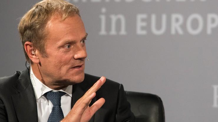 Tusk: albo twardy Brexit, albo żaden