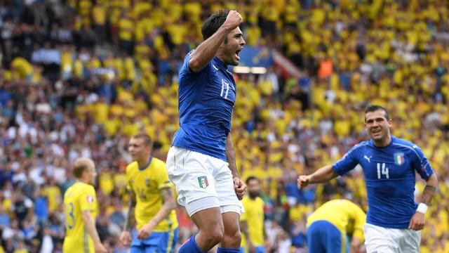 ME: Włochy-Szwecja 1:0