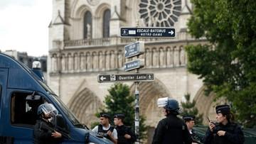 07-06-2017 11:10 Francuskie media: zamachowiec sprzed Notre Dame przyrzekł wierność IS