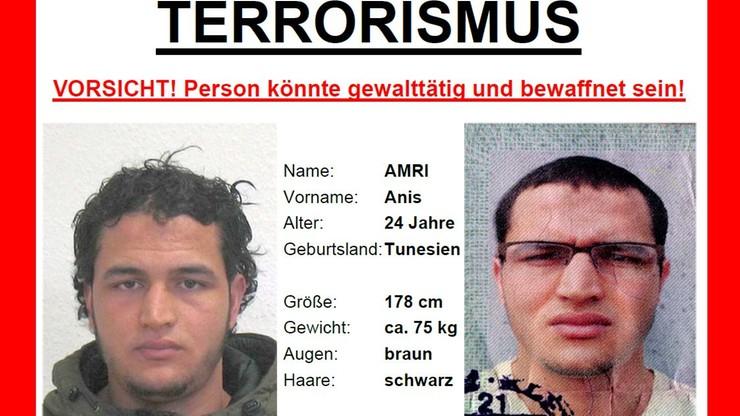 Niemcy: poszukiwany Anis Amri miesiącami był obserwowany przez służby. Nagroda 100 tys. euro
