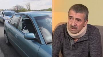 """26-04-2017 18:54 Postrzelono go, gdy jechał samochodem. """"Kula utkwiła centymetr od kręgosłupa"""""""