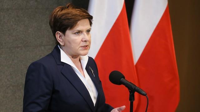 Szydło: sprawy w Polsce idą w dobrym kierunku