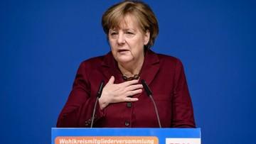 """30-01-2017 15:59 """"Sprzeczny z ideą pomocy uchodźcom"""". Angela Merkel o dekrecie Trumpa"""