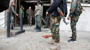 15-03-2017 14:43 Co najmniej 25 ofiar zamachu w Damaszku