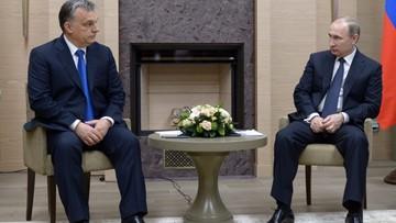 """17-02-2016 15:26 Rosja-Węgry """"dwa bratanki"""". Orban z wizytą u Putina"""