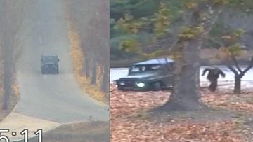 Strzelali do niego z kilku metrów. Nagranie ucieczki żołnierza z Korei Północnej