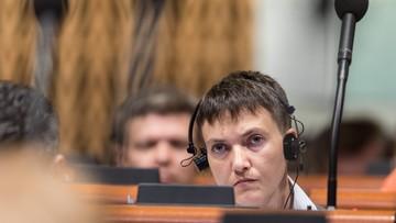 20-06-2016 20:30 Sawczenko przeciwko przywróceniu członkostwa Rosji w  Zgromadzeniu Parlamentarnym Rady Europy