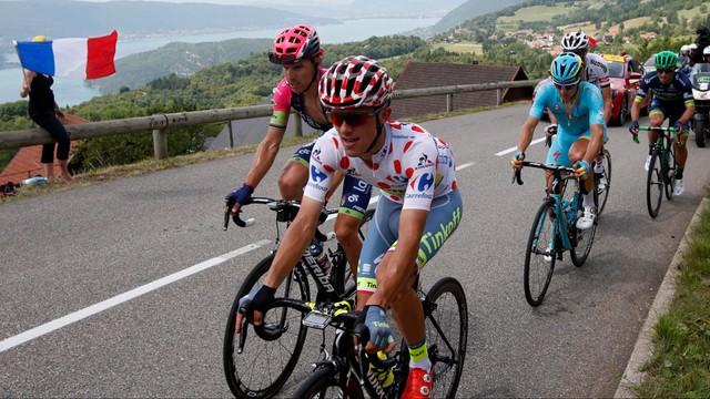 Tour de France - Majka najlepszym góralem, etap dla Bardeta