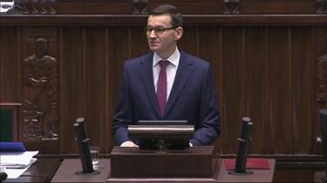 """2017-12-12 Expose Mateusza Morawieckiego. """"Rząd kontynuacji, który będzie realizował politykę wspierania polskich rodzin"""""""