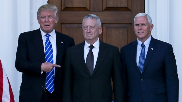 Trump potwierdził wybór generała Mattisa na szefa Pentagonu