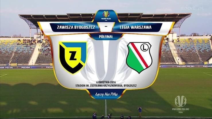 Zawisza Bydgoszcz - Legia Warszawa 1:2. Skrót meczu