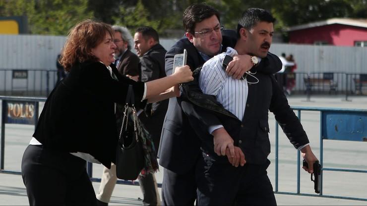 Strzelanina w tureckim sądzie. Znany dziennikarz celem ataku