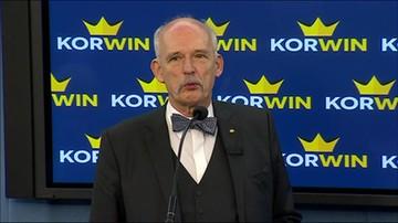 Korwin-Mikke: w normalnym kraju minister, który podał złe dane, podaje się do dymisji