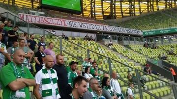 2017-08-20 Kibice Lechii Gdańsk oraz Zagłębia Sosnowiec domagają się… stadionu dla Rakowa