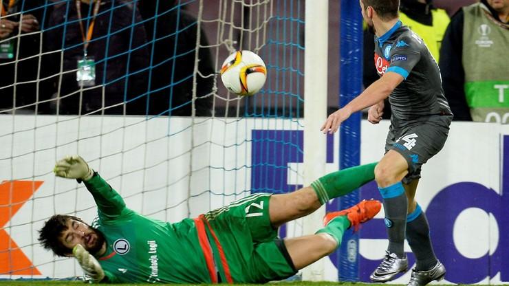 Cudu nie było. Legia znokautowana przez Napoli żegna się z Europą