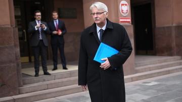 04-02-2016 11:10 Spotkanie szefa MSZ z ambasadorem Rosji. Trwało 3 minuty