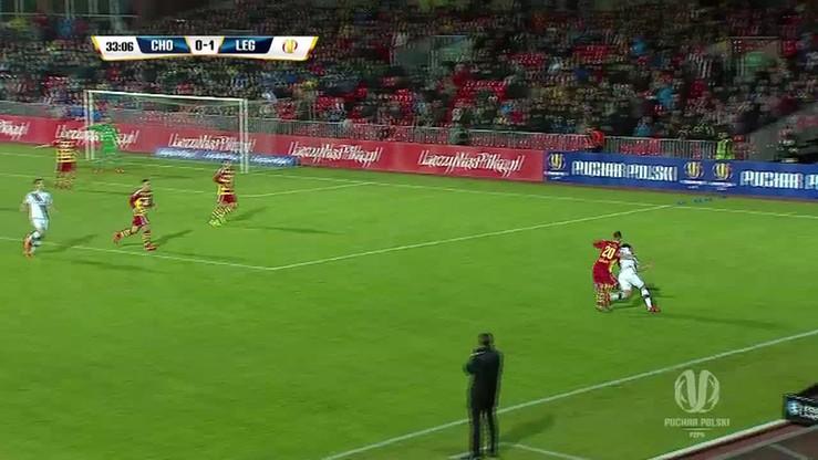 Puchar Polski: Chojniczanka - Legia 1:2. Skrót meczu