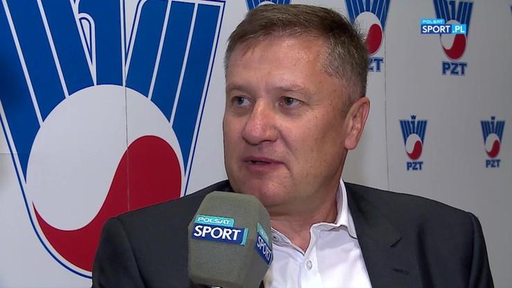 Kandydat na prezesa PZT w rozmowie z Tomaszem Tomaszewskim