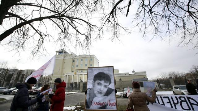 Ukraina rozszerza sankcje wobec Rosji w związku ze skazaniem Sawczenko