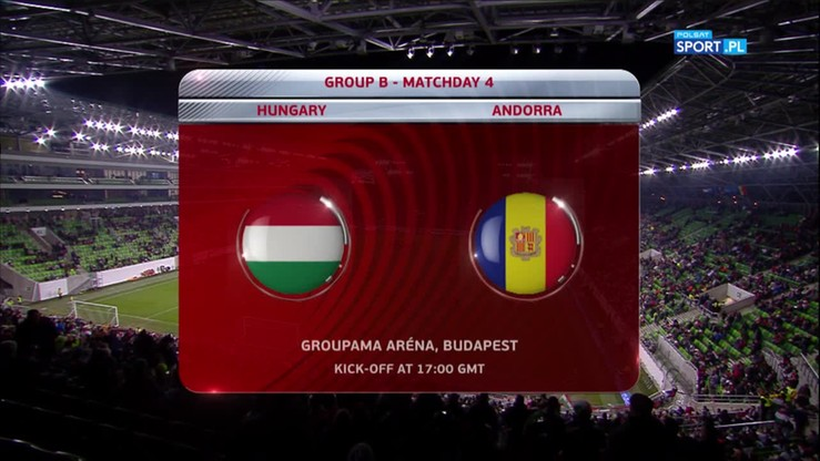 Węgry - Andora 4:0. Skrót meczu
