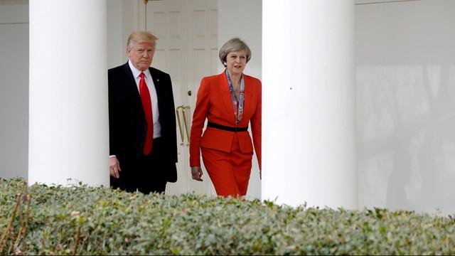 USA: May omawiała z Trumpem walkę z Państwem Islamskim