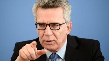 """30-04-2017 17:37 """"Prymat prawa nad wszystkimi religijnymi regułami"""". Minister definiuje zasady """"kultury wiodącej"""" w Niemczech"""