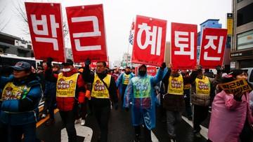 """26-11-2016 16:04 """"Wrzućcie Park do więzienia"""". Kolejna demonstracja przeciw prezydent Korei Południowej"""