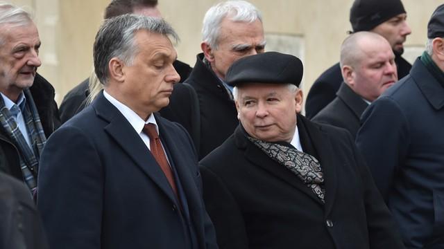 Kaczyński: Jesteśmy zawiedzeni postawą Viktora Orbana