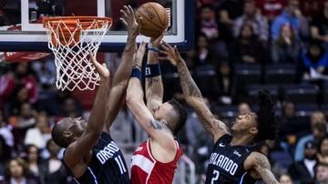 2018-01-13 NBA: Gortat i spółka pokonali Magic. Double-double Polaka w starciu z byłą ekipą