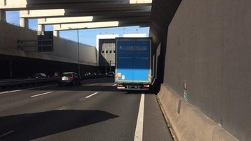 21-07-2017 19:02 Polski kierowca ciężarówki ukarany mandatem w Holandii. Kwota robi wrażenie