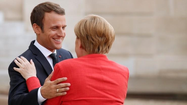 Merkel i Macron apelują do Putina i Poroszenki ws. konfliktu w Donbasie