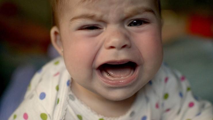 Niemowlęta najczęściej płaczą w Anglii, najrzadziej w Danii. Zbadali to naukowcy