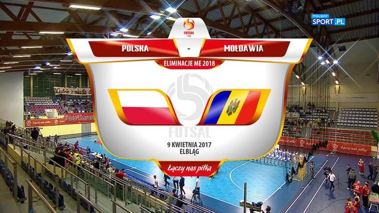 Polska - Mołdawia 4:2. Skrót meczu