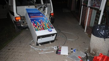 26-10-2015 18:25 Wyrwali bankomat… volkswagenem. Nie zdążyli go nawet załadować