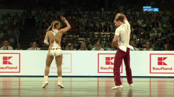 Miadzielec i Tarczyło złotymi medalistami w rock and rollu akrobatycznym!