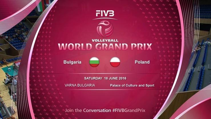 Polska - Bułgaria 3:1. Skrót meczu