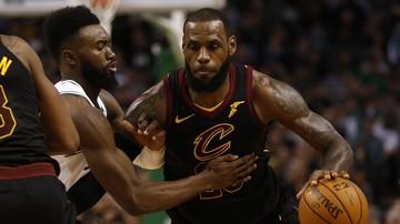 2018-01-12 NBA: Druga z rzędu wysoka porażka Cavaliers