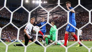 """07-07-2016 23:10 Francja w finale Euro 2016! Griezmann bohaterem """"Trójkolorowych"""""""