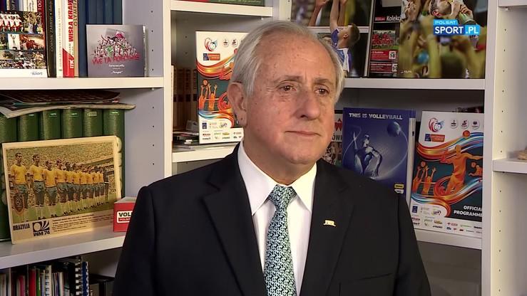 Prezydent FIVB: Jestem Brazylijczykiem, ale to Polska jest numerem jeden