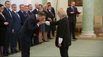 21-12-2016 12:06 Prezydent powołał sędzię Julię Przyłębską na prezesa Trybunału Konstytucyjnego