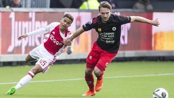 2017-03-20 Eredivisie: Justin Kluivert idzie w ślady ojca Patricka