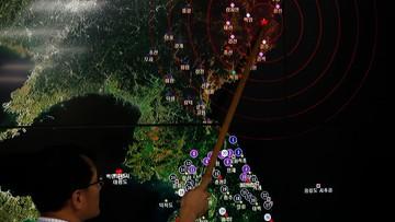 09-09-2016 19:25 MSZ zaniepokojone przeprowadzeniem próby jądrowej przez Koreę Północną