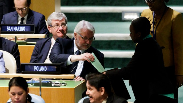 Polska członkiem Rady Bezpieczeństwa ONZ