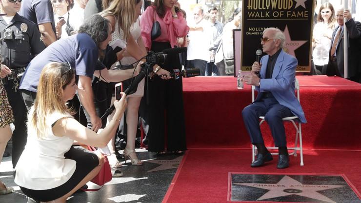 Aznavour w hollywoodzkiej Alei Sław
