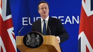 19-02-2016 23:40 Cameron: to porozumienie pozwala mi rekomendować pozostanie W. Brytanii w UE